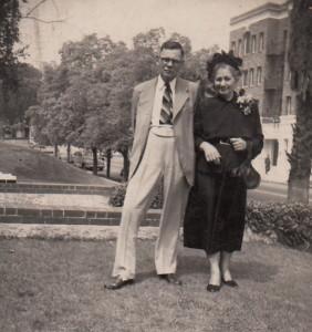 early 1940's Parents Politzer