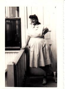 1943 in Nurse's Aid uniform